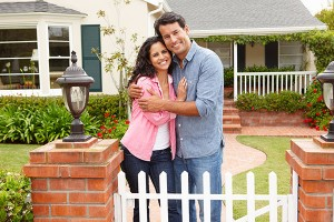 Happy Couple Lee Stone Custom Homes