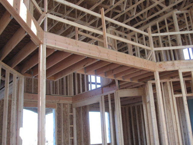 Framing by Lee Stone Custom Homes